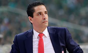Αποχαιρέτησε παίκτες και επιτελείο του Ολυμπιακού ο Σφαιρόπουλος