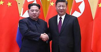 Β.Κορέα: Κοινή θέση Κιμ Γιονγκ Ουν και Σι Τζινπίνγκ για την αποπυρηνικοποίηση