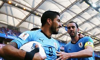 Live: Ουρουγουάη - Σαουδική Αραβία 1-0