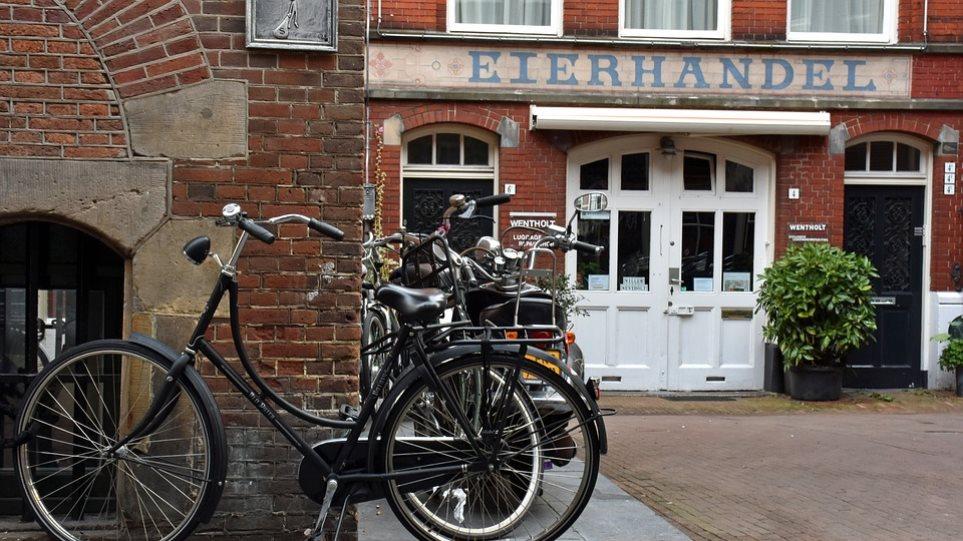 Ολλανδία: Ανταμοιβή για όσους πηγαίνουν στη δουλειά με το ποδήλατο σχεδιάζει η κυβέρνηση