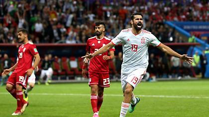 Το τυχερό γκολ του Ντιέγκο Κόστα άνοιξε τον δρόμο για την Ισπανία (video)