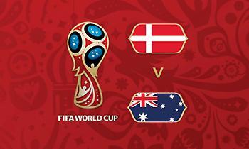 Live: Δανία-Αυστραλία 1-0