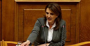 Καστοριά: Αποδοκιμασίες κατά της βουλευτού ΣΥΡΙΖΑ Ολυμπίας Τελιγιορίδου
