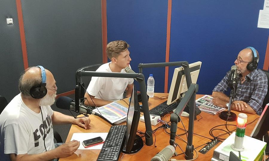 LIVE: Ο Παναγιώτης Ρέτσος στον ΣΠΟΡ FM 94,6!