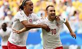«Ρουκέτα» Έρικσεν και 1-0 η Δανία (video)