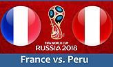 Οι ενδεκάδες του Γαλλία-Περού