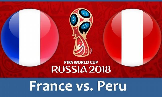 LIVE: Γαλλία-Περού 0-0