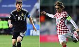 Οι ενδεκάδες στο Αργεντινή-Κροατία