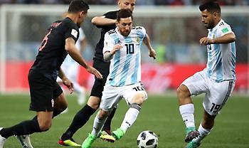 LIVE: Αργεντινή-Κροατία 0-0