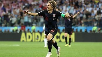 Τα γκολ του θριάμβου της Κροατίας απέναντι στην Αργεντινή (video)