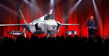 To τουρκικό σόου με την παραλαβή των δύο F-35 από την Άγκυρα (pics/video)