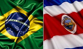 Οι ενδεκάδες του Βραζιλία-Κόστα Ρίκα