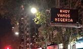 Συνθήματα υπέρ… Νιγηρίας στο Μπουένος Άιρες (pic)