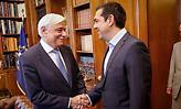 Τσίπρας στον Προκόπη Παυλόπουλο: «Δεν θα τη γλιτώσω τη γραβάτα, θα τη φορέσω»