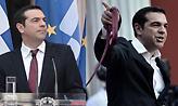 Σόου Τσίπρα με την κόκκινη γραβάτα στο Ζάππειο: Την έβγαλε την ώρα της ομίλιας του (video)