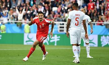 Live: Σερβία-Ελβετία 1-1
