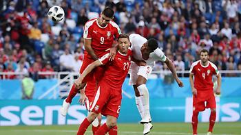 Live: Σερβία-Ελβετία 1-2