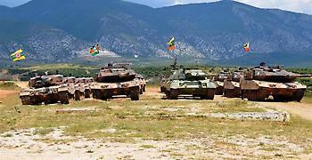Πέντε έλληνες στρατιώτες τραυματίες από ανατροπή ερπυστριοφόρου στην Κύπρο