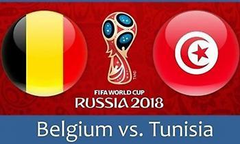 Live: Βέλγιο-Τυνησία 2-0