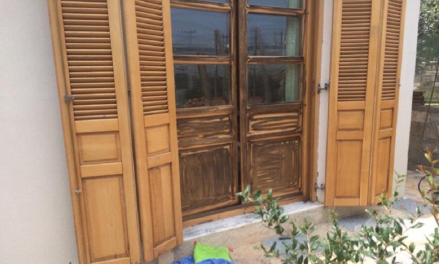 Σε αυτό το σπίτι κρυβόταν ο ένας από τους δραπέτες της Αργυρούπολης (pics)