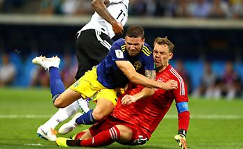 Live: Γερμανία-Σουηδία 1-1