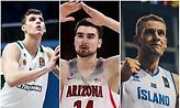 NBA: Οι δέκα κορυφαίοι Ευρωπαίοι που δεν χώρεσαν στο Draft
