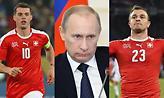 Ενοχλημένος με Τζάκα και Σακίρι ο Πούτιν