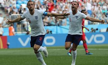 Δεύτερο πέναλτι-γκολ ο Κέιν, πεντάρα στο ημίχρονο η Αγγλία! (video)