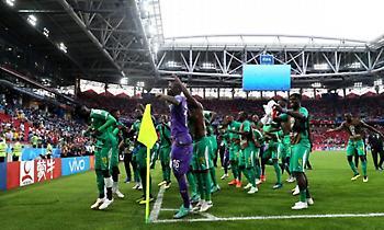 Ο «χορός» των διεθνών της Σενεγάλης στο ζέσταμα! (video)