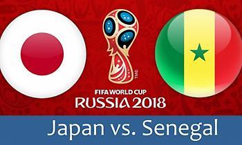 LIVE: Ιαπωνία - Σενεγάλη