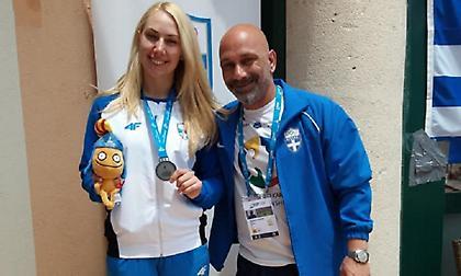 Νέα ελληνική επιτυχία στους Μεσογειακούς: Αργυρή η Χατζηλιάδου!