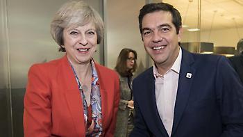 Στο Λονδίνο αύριο ο Τσίπρας - Συνάντηση με την Τερέζα Μέι