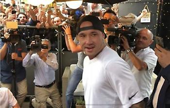 Στο Μιλάνο ο Ναϊνγκολάν για Ίντερ: «Είμαι χαρούμενος»