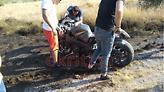Κρητη: Σοβαρό τροχαίο σε αγώνες επιτάχυνσης - Τραυματίστηκε μοτοσικλετιστής