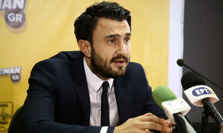 Καρυπίδης: «Δεν κατεβαίνουμε στο πρωτάθλημα αν δεν λυθεί το τηλεοπτικό»
