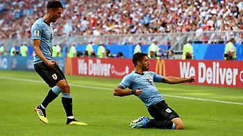 LIVE: Ουρουγουάη-Ρωσία 3-0 (Τελικό)