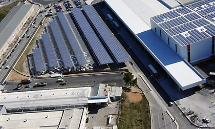 Το εργοστάσιο της SEAT είναι ο μεγαλύτερος φωτοβ/κός σταθμός της αυτοκινητοβιομηχανίας