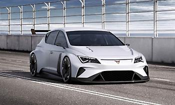 Το ηλεκτρικό αγωνιστικό CUPRA e-Racer για πρώτη φορά σε πίστα
