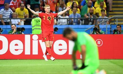 Τα highlights από τη νίκη-πρόκριση του Βελγίου επί της Βραζιλίας