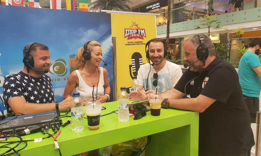 O ΣΠΟΡ FM 94,6 από το Athens Metro Mall