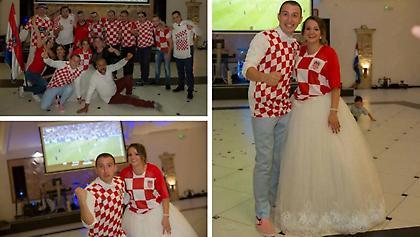 Ο κροατικός γάμος που έγινε… φιέστα πρόκρισης (pics)