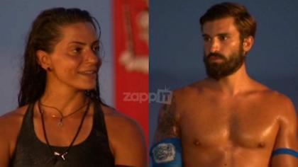 Survivor: Ηλίας Γκότσης και Μελίνα Μεταξά προκρίθηκαν στον ημιτελικό! (video)