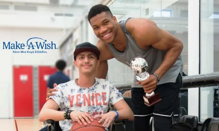 Make A Wish: Μάριος, 15… Εύχομαι να γνωρίσω τα αδέλφια Αντετοκούνμπο!