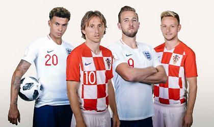 Ραντεβού με την ιστορία για Κροατία και Αγγλία