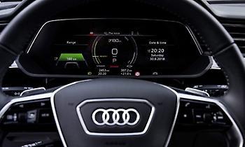 Tο εσωτερικό του Audi e-tron