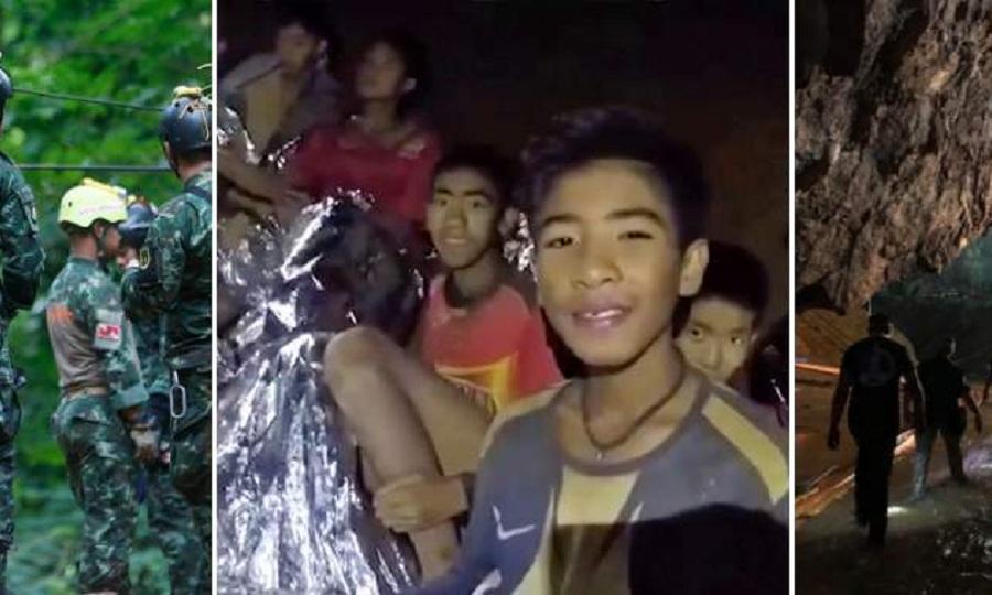 Τα συγκλονιστικά πλάνα από την διάσωση των παιδιών της Ταϊλάνδης (video)