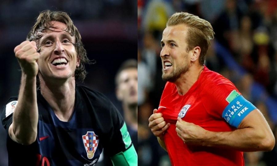 Οι ενδεκάδες στο Κροατία-Αγγλία