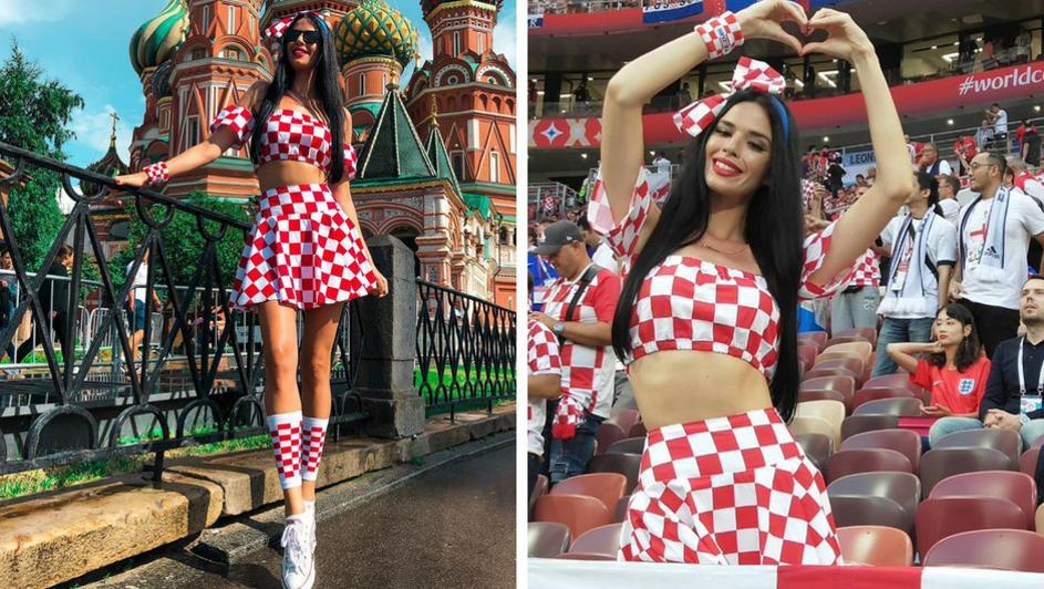 Η σέξι Ιβάνα πανηγύρισε για την Κροατία (pics)