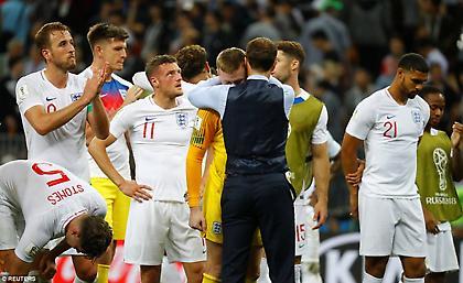 Σάουθγκεϊτ: «Περήφανος για την ομάδα μου»
