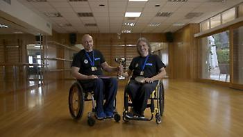 Χρυσό μετάλλιο για τους Γκίκα–Φράγκο στο Πανελλήνιο Πρωτάθλημα Επιτραπέζιας Αντισφαίρισης ΑΜεΑ
